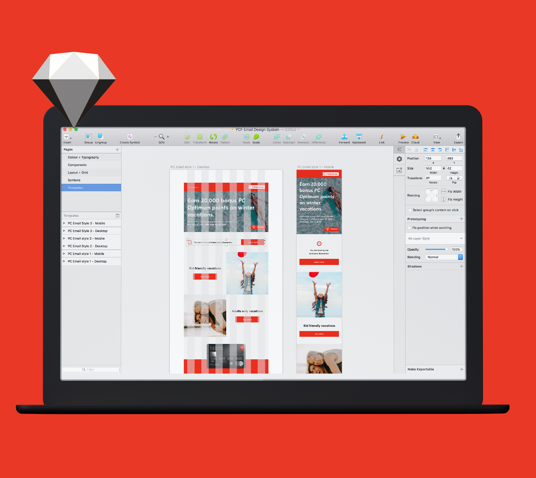 Email Design System 1